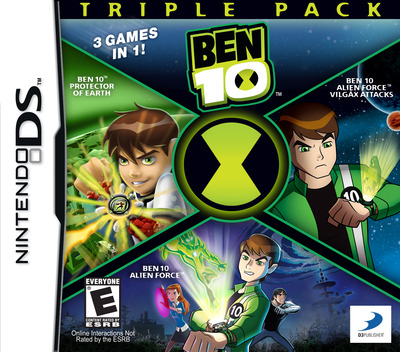 Ben 10 Triple Pack DS coverM (B7NE)