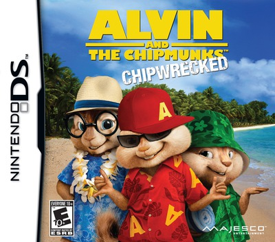 Alvin and the Chipmunks - Chipwrecked DS coverM (B7ZE)