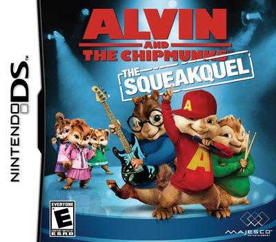 Alvin and the Chipmunks - The Squeakquel DS coverM (BAVE)