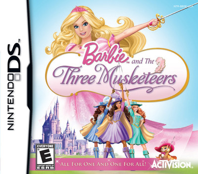 Barbie and the Three Musketeers DS coverM (BB3E)