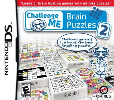 Challenge Me - Brain Puzzles 2 DS coverM (BBVE)
