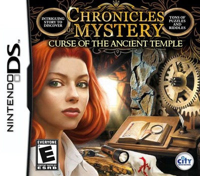 Chronicles of Mystery - Curse of the Ancient Temple DS coverM (BCME)