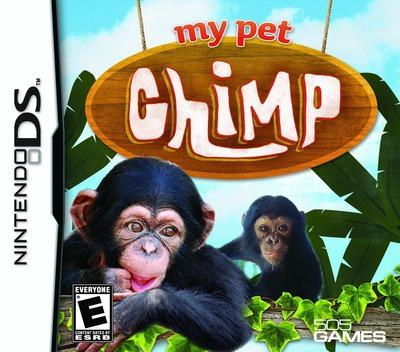 My Pet Chimp DS coverM (BCQE)