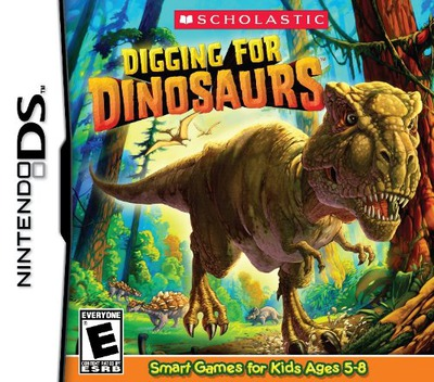 Digging For Dinosaurs DS coverM (BD7E)