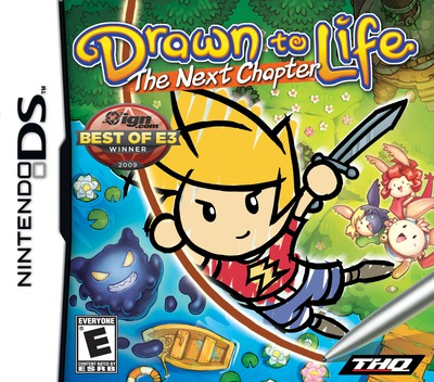 Drawn to Life - The Next Chapter DS coverM (BDRE)