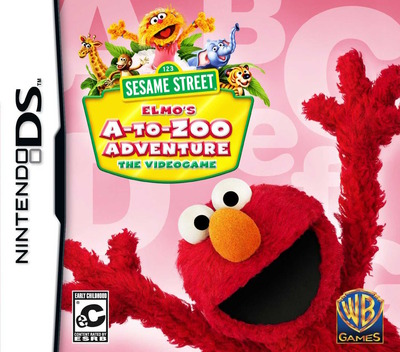 Sesame Street - Elmo's A-to-Zoo Adventure - The Videogame DS coverM (BERE)