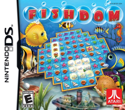Fishdom DS coverM (BFDE)
