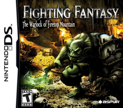 Fighting Fantasy - The Warlock of Firetop Mountain DS coverM (BFGE)