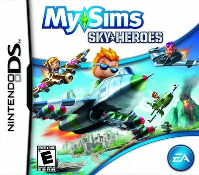 MySims - SkyHeroes DS coverM (BFLE)