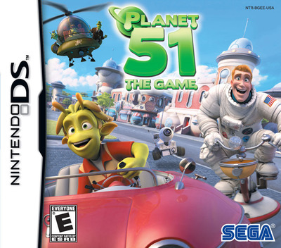 Planet 51 - The Game DS coverM (BGEE)