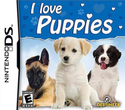 I Love Puppies DS coverM (BIIE)