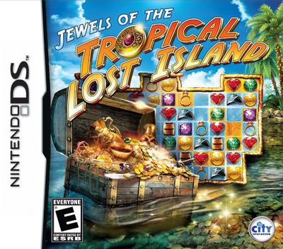 Jewels of the Tropical Lost Island DS coverM (BJ4E)
