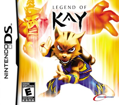 Legend of Kay DS coverM (BKYE)