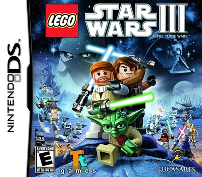 LEGO Star Wars III - The Clone Wars DS coverM (BL9E)