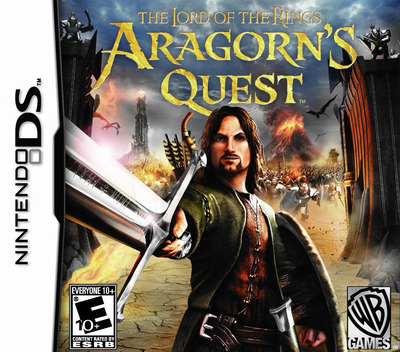 The Lord of the Rings - Aragorn's Quest DS coverM (BLPE)