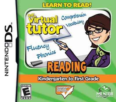 My Virtual Tutor - Reading - K to 1st Grade DS coverM (BMME)