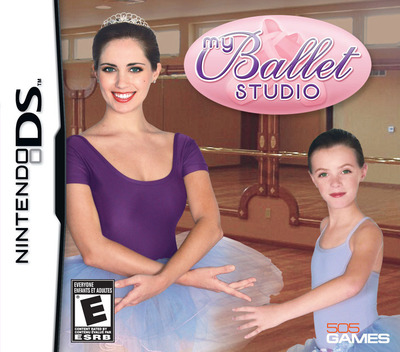 My Ballet Studio DS coverM (BPDE)