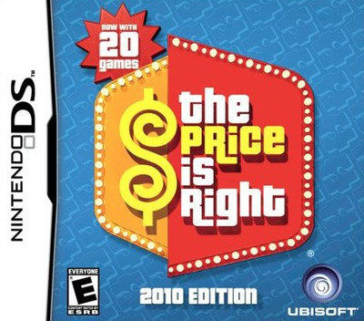 The Price Is Right - 2010 Edition DS coverM (BR2E)