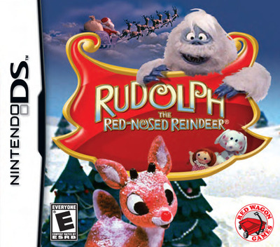 Rudolph - The Red-Nosed Reindeer DS coverM (BRUE)