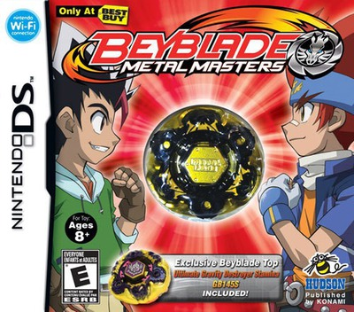 Beyblade - Metal Masters (Best Buy Exclusive) DS coverM (BRZW)