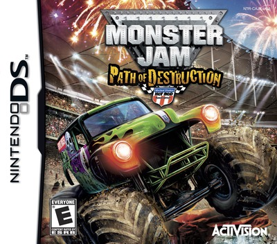 Monster Jam - Path of Destruction DS coverM (BUJE)