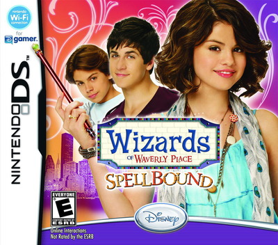 Wizards of Waverly Place - Spellbound DS coverM (BW4E)