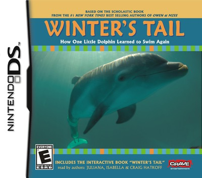 Winter's Tail - How One Little Dolphin Learned to Swim Again DS coverM (BWUE)