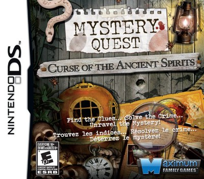 Mystery Quest - Curse of the Ancient Spirits DS coverM (BXCE)