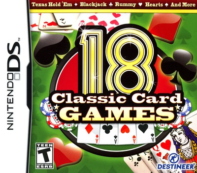 18 Classic Card Games DS coverM (BY8E)