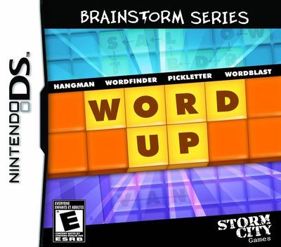 Brainstorm Series - Word Up DS coverM (BZ7E)