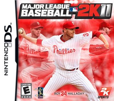 Major League Baseball 2K11 DS coverM (BZVE)