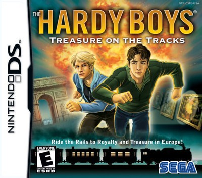 The Hardy Boys - Treasure on the Tracks DS coverM (C3TE)