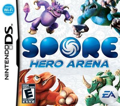 Spore Hero Arena DS coverM (C49E)