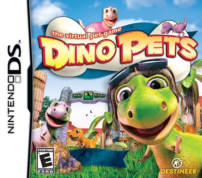 Dino Pets - The Virtual Pet Game DS coverM (C5NE)