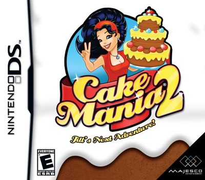 Cake Mania 2 - Jill's Next Adventure! DS coverM (CAKE)