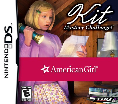 American Girl - Kit Mystery Challenge! DS coverM (CAME)