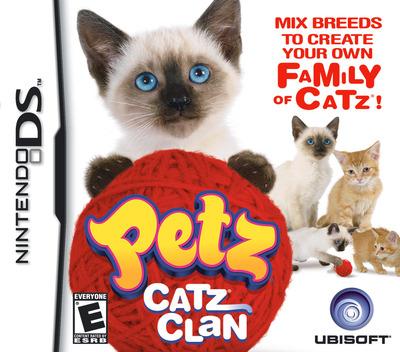 Petz - Catz Clan DS coverM (CATE)