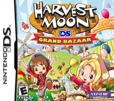 Harvest Moon DS - Grand Bazaar DS coverM (CB9E)
