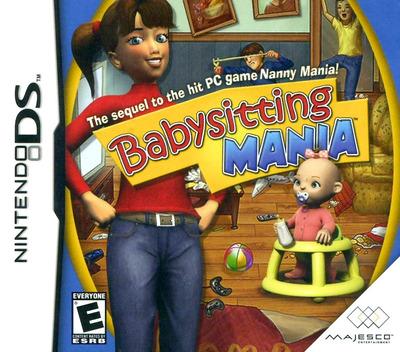 Babysitting Mania DS coverM (CBYE)