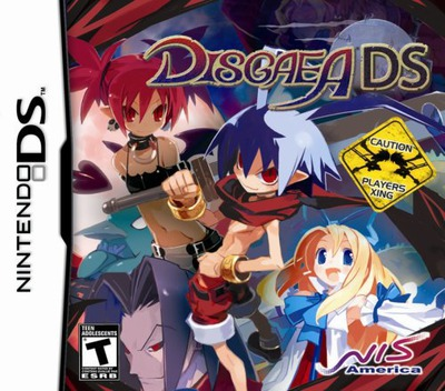 Disgaea DS DS coverM (CDGE)