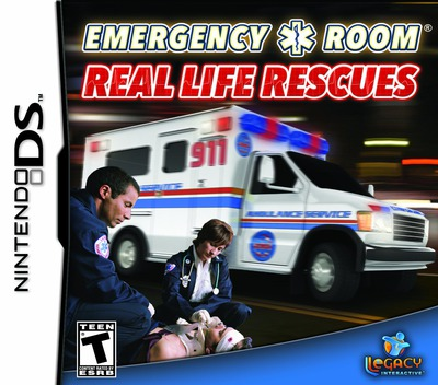 Emergency Room - Real Life Rescues DS coverM (CEJE)