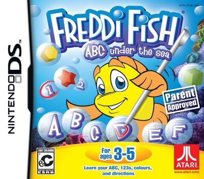 Freddi Fish - ABC under the Sea DS coverM (CF3E)