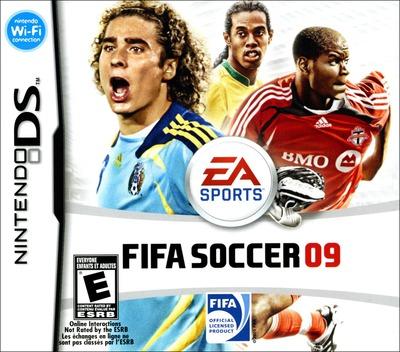 FIFA Soccer 09 DS coverM (CF9E)