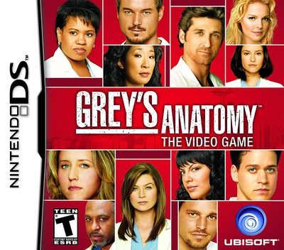Grey's Anatomy - The Video Game DS coverM (CG5E)