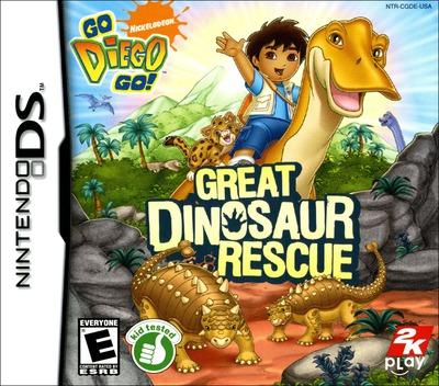 Go, Diego, Go! - Great Dinosaur Rescue DS coverM (CGDE)
