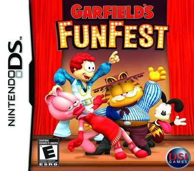 Garfield's Fun Fest DS coverM (CGFE)