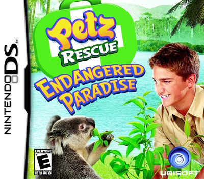 Petz Rescue - Endangered Paradise DS coverM (CGQE)