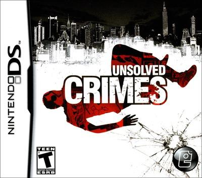 Unsolved Crimes DS coverM (CICE)
