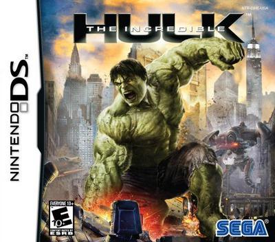The Incredible Hulk DS coverM (CIHE)