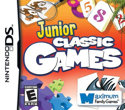 Junior Classic Games DS coverM (CIJE)